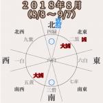 【九紫火星】2018年8月(8/8〜9/7)大吉月!前向き!だけど体は重め。。。