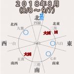【二黒土星】2018年8月(8/8〜9/7)急な予定変更は念頭に。状況は色々変わる。注意は必要。