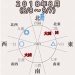 【三碧木星】2018年8月(8/8〜9/7)今年はじめて順調な月!やっと大吉!