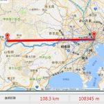 吉方位旅行「西」:東京→山梨県甲府の旅