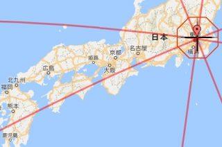 「真北」と「磁北(偏角)」どっち?東京と福岡の位置関係から検証